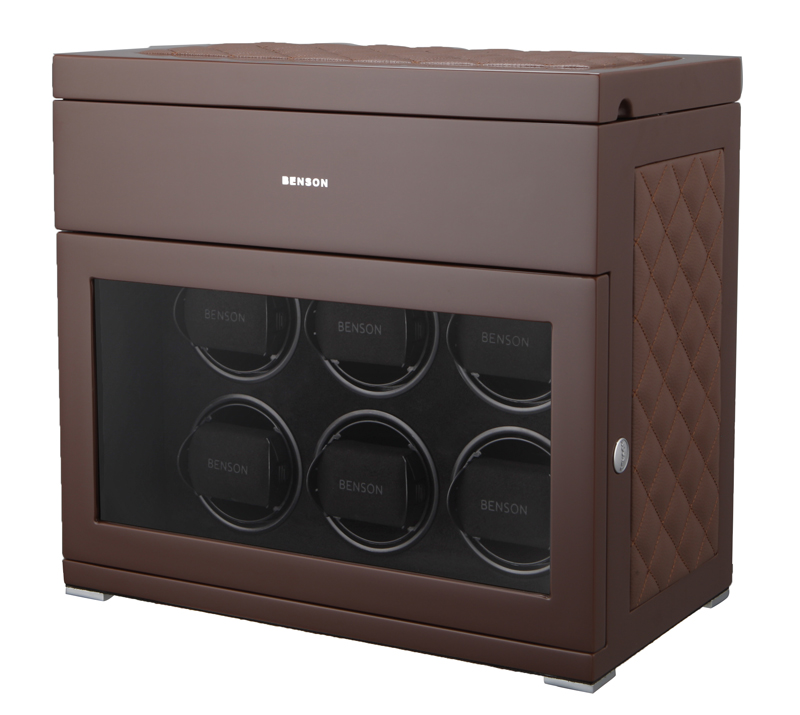 Benson Black Series watchwinder brown