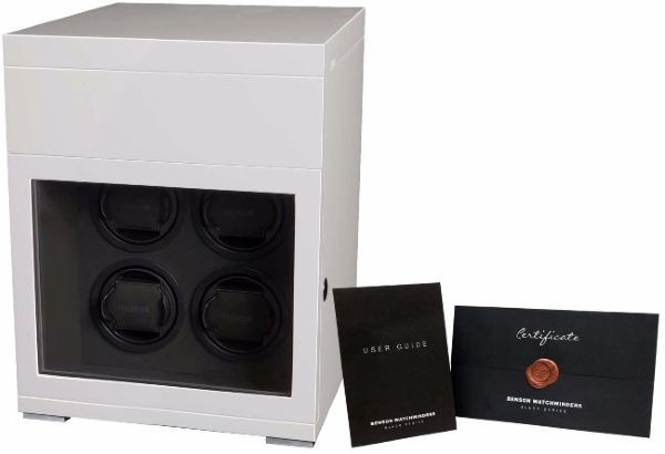 Benson Black Series watchwinder wit