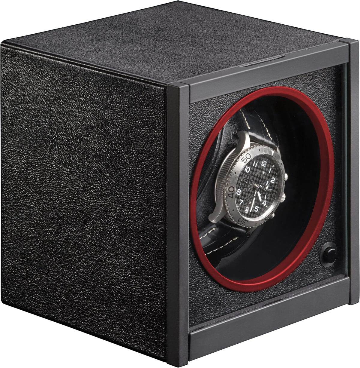 RDI Horizon I Black Leather Red